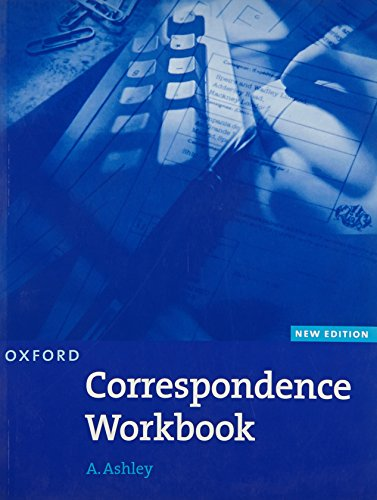 9780194572149: Oxford Handbook of Commercial Correspondence, New Edition: Workbook