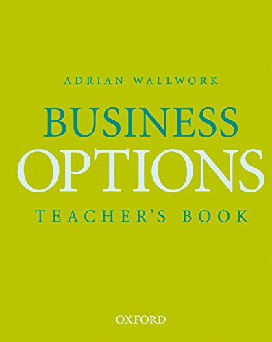Business Options: Teacher's Book: Wallwork, Adrian