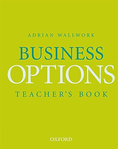 9780194572354: Business Options: Teacher's Book