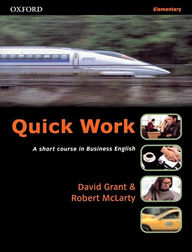 9780194572880: Quick Work Elementary: Student's Book