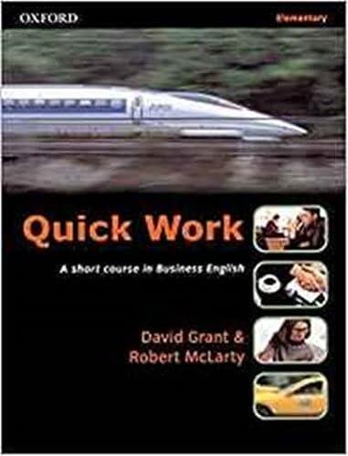 Quick Work Elementary: Student's Book: Student's Book: McLarty, Robert