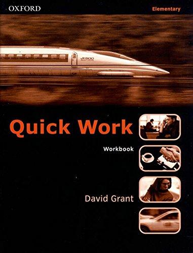 9780194572903: Quick Work Elementary: Workbook: Workbook Elementary level