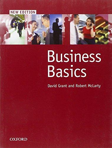9780194573405: Business Basics: Student Book (Business Basics New Edition)