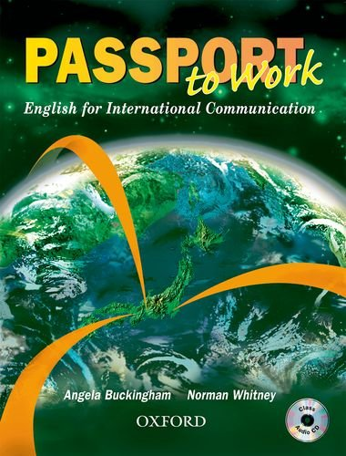 9780194573641: Passport to Work Student Book with CD