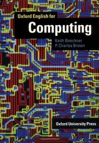 9780194573870: Oxford English for Computing