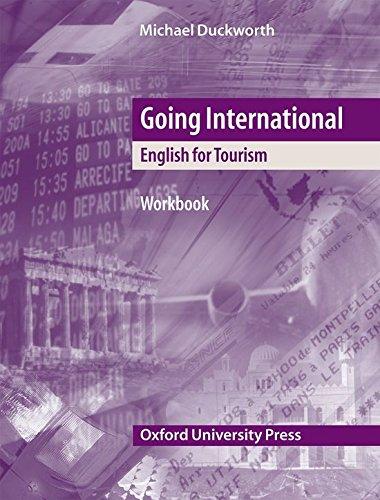 9780194574020: Going International: Workbook: English for Tourism