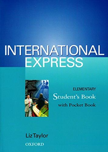 9780194574105: International Express: Student's Book (including Pocket Book) Elementary level
