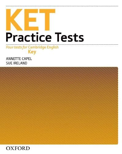9780194574204: KET Practice Tests:: Key Practice Tests: Practice Tests Without Key