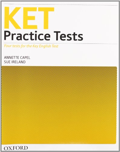 9780194574228: Ket practice tests. Without key. Con CD Audio. Per le Scuole superiori