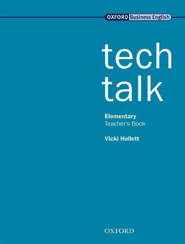 9780194574549: Tech Talk Elementary: Technical Talk Elementary: Teacher's Book