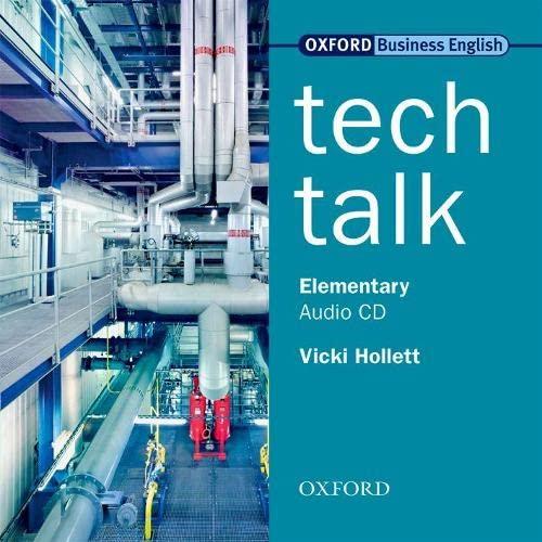 9780194574563: Tech Talk Elementary: Technical Talk Elementary: Class CD (1): Class CD Elementary level