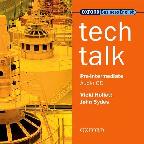 9780194574617: Tech Talk Pre-Intermediate: Tech Talk Pre-Intermediate: Class Audio CD Class Audio CD