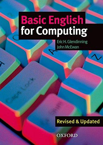 9780194574709: Basic English for Computing: Student's Book
