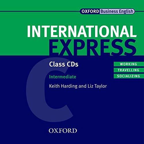 9780194574891: International Express: Intermediate: Class Audio CDs