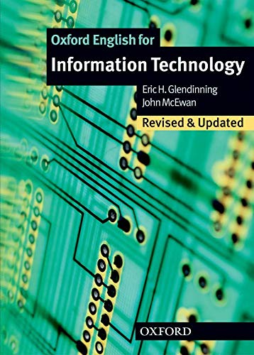 Oxford English for Information Technology: Student Book (019457492X) by Eric Glendinning; John McEwan