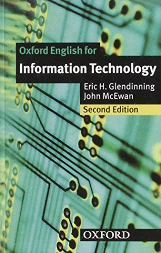 9780194574945: Oxford English for Information Technology: Cassette