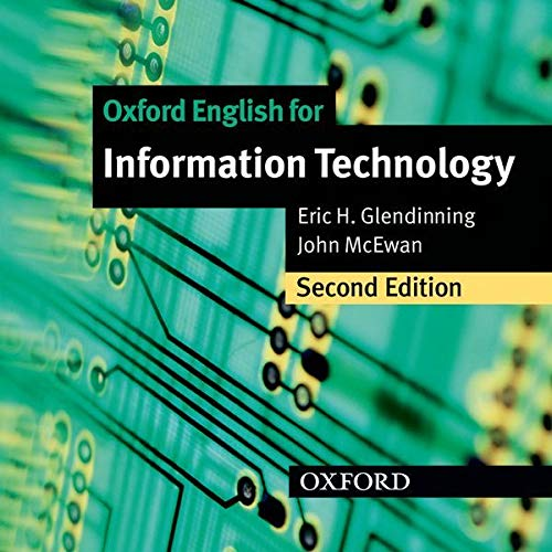 9780194574952: Oxford English for Information Technology: Class Audio CD