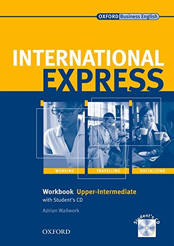 9780194574969: International Express Upper-Intermediate: Workbook with Student's CD Interactive Editions: Workbook with Student's CD Upper-intermediate l (International Express Second Edition) - 9780194574969