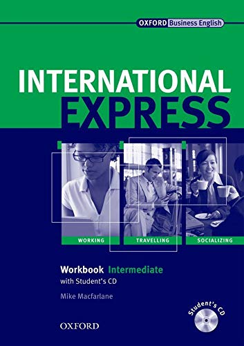 9780194574976: International Express, Interactive Editions: Intermediate: Workbook + Student CD