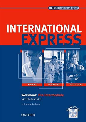 9780194574983: International Express, Interactive Editions: Pre-Intermediate: Workbook + Student CD