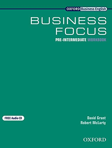 9780194575256: Business Focus Pre-Intermediate: Workbook with Audio CD pack