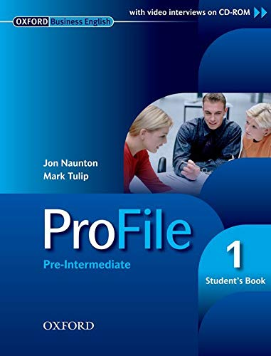 9780194575751: Profile. Student's book. Per le Scuole superiori. Con CD-ROM: Profile 1: Student's Pack