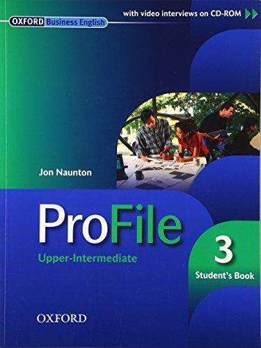 9780194575775: ProFile 3: Student's Pack: Upper-Intermediate