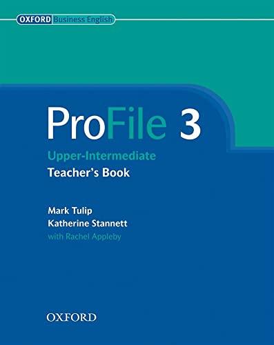 9780194575898: ProFile 3: Teacher's Book