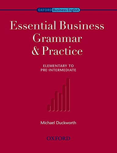 9780194576253: Essential Business Grammar and Practice
