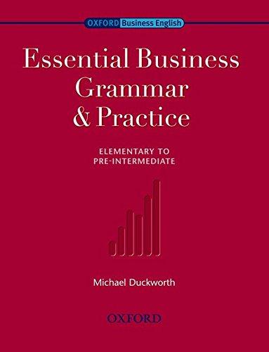 9780194576253: Essential Business Grammar & Practice (Oxford Business English)