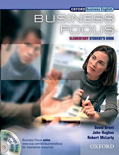 9780194576338: Business Focus Elementary. Student's Book with CD-ROM Pack: Student's Book with CD-ROM Pack Elementary level