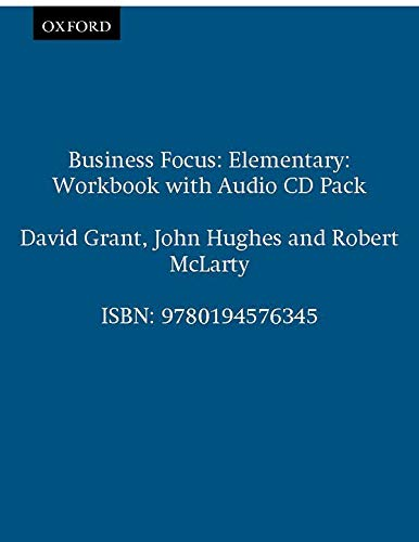 9780194576345: Business focus. Elementary. Workbook. Con CD Audio. Per le Scuole superiori