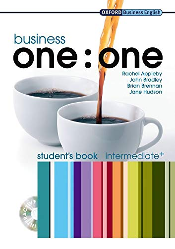 9780194576376: Business one:one Intermediate: MultiROM included Student's Book Pack (Oxford Business English)