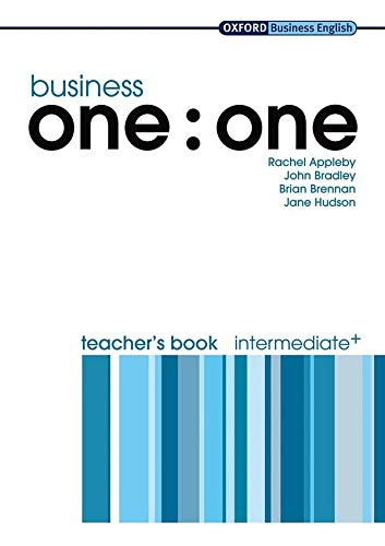 9780194576383: Business one:one: Business One to One Intermediate : Teacher's Book