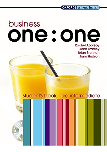 9780194576420: Business one:one Pre-intermediate: MultiROM included Student's Book Pack (Oxford Business English)