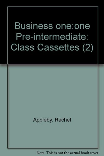9780194576444: Business One: One Pre-intermediate: Class Cassettes (2)