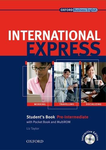9780194576512: International Express Pre Intermediate (Express Interactive Bk & Cdrom)