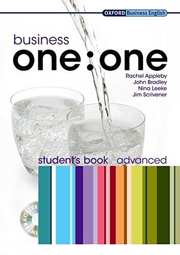 9780194576819: Business one:one Advanced: Business one to one. Advanced. Student's book. Per le Scuole superiori. Con Multi-ROM