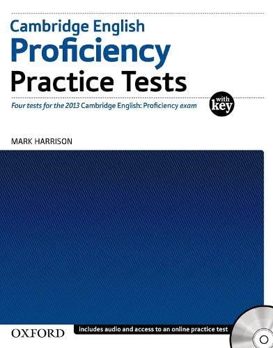 9780194577366: Cambridge English Proficiency (CPE): Practice Tests With Key (Proficiency Practice Tests)