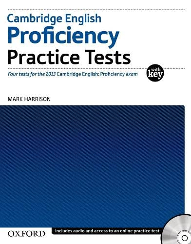 9780194577366: Cambridge English Professional Practice Test with Key Pack (Cambridge English: Proficiency (CPE))