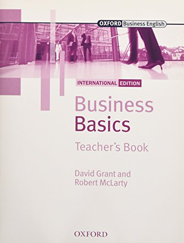 9780194577762: Business Basics International Edition: Business Basics: Teacher's Book International New Edition - 9780194577762