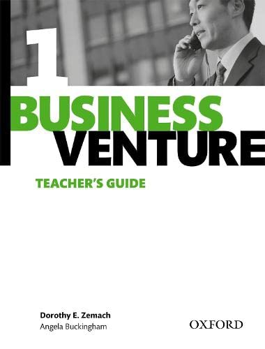 9780194578011: Business Venture 1 Elementary: Teacher's Guide