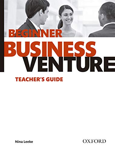 9780194578059: Business Venture Beginner. Teacher's Guide