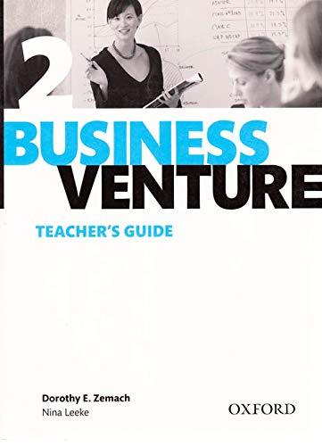 9780194578097: Business Venture 2 Pre-Intermediate: Teacher's Guide