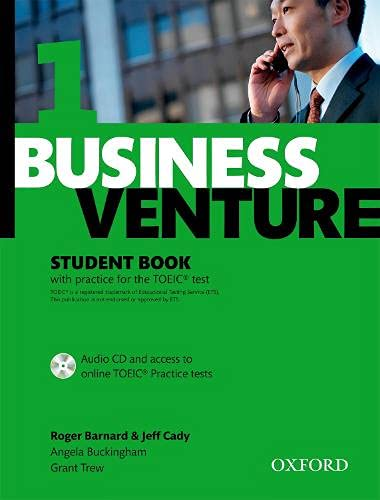 9780194578172: Business Venture 1 Elementary: Student's Book Pack (Student's Book + CD)