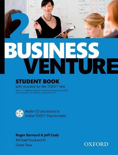9780194578189: Business Venture 2 Pre-Intermediate: Student's Book Pack (Student's Book + CD)