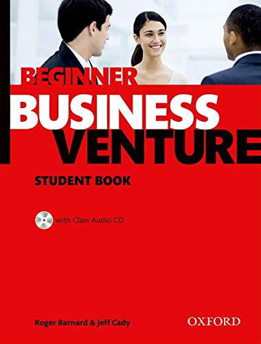 9780194578196: Business Venture Beginner: Student's Book and CD Pack
