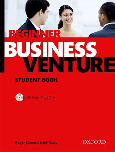 9780194578196: Business Venture: Beginner: Student's Book Pack (Student's Book + CD)