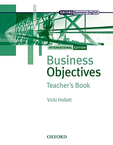 9780194578264: Business Objectives Teacher's Book: International Edition (Business Objectives International Edition)