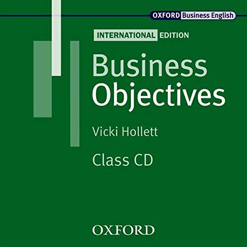 9780194578295: Business Objectives International Edition: Business Objectives: Class Audio CD International Edition